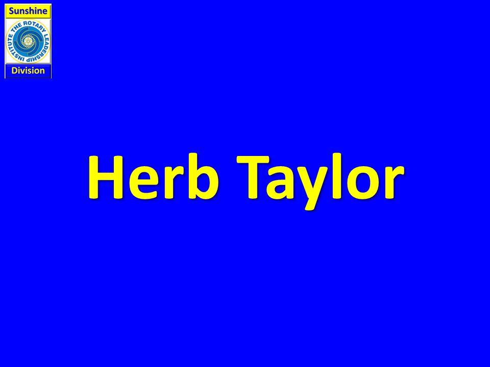 Herb Taylor