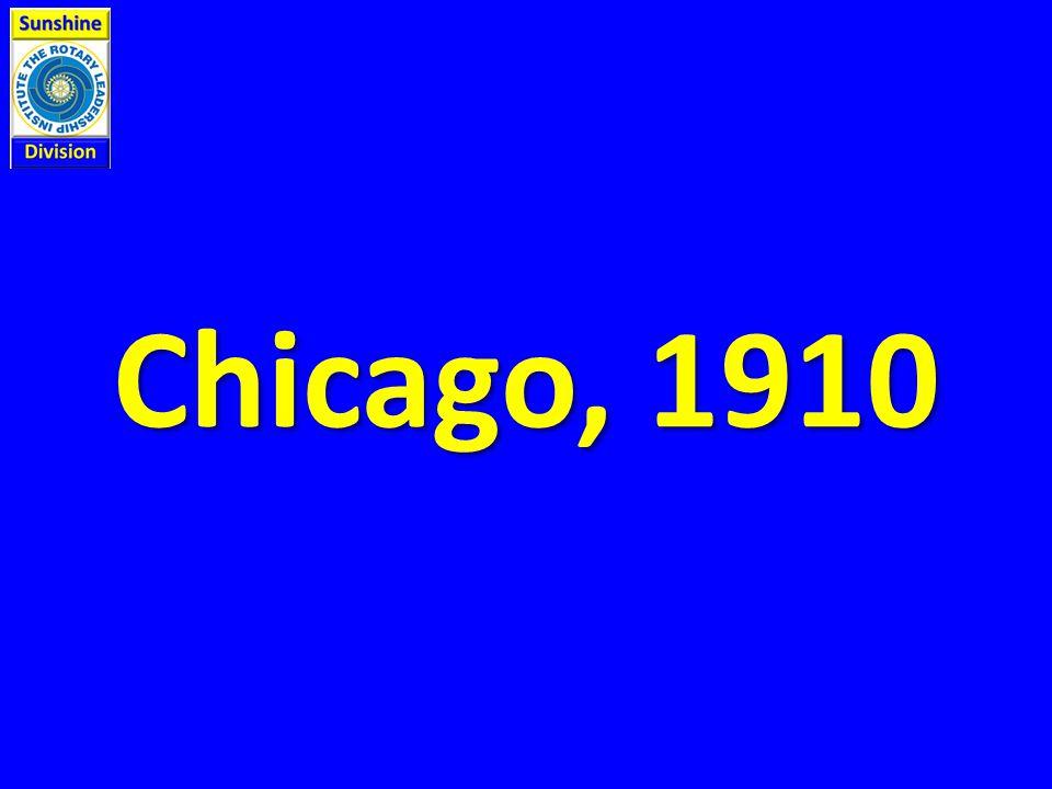 Chicago, 1910