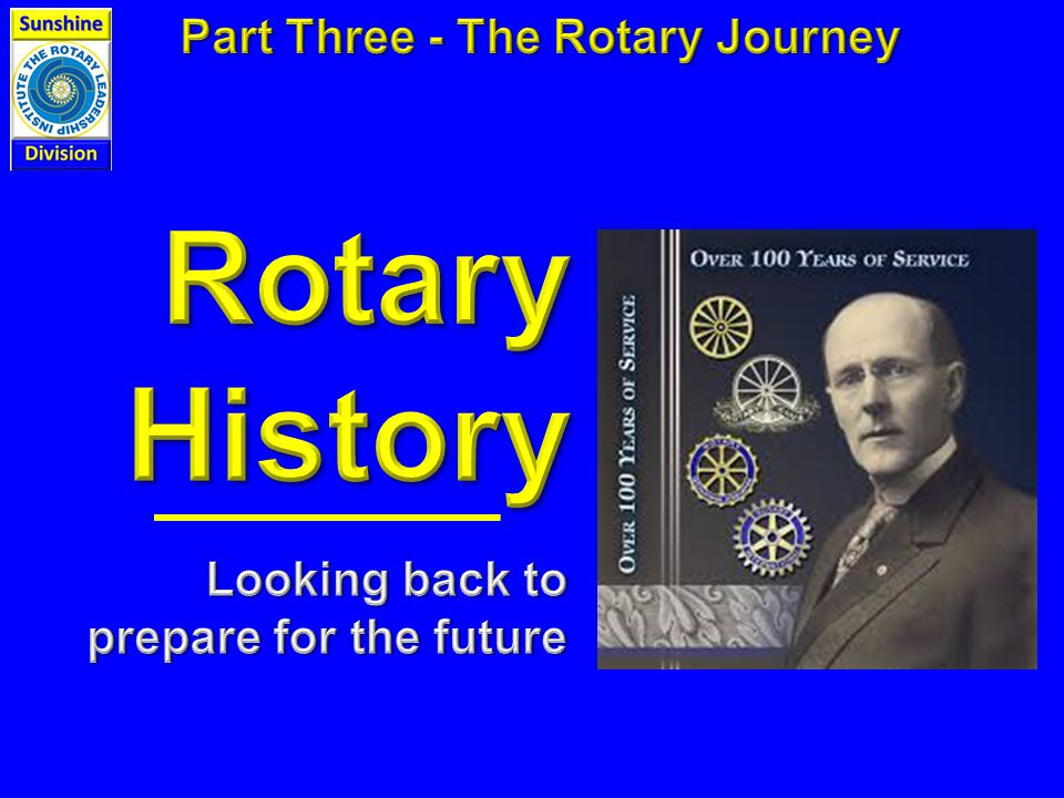  International Projects of Rotary International  The Role of The Rotary Foundation  Special Locally Designed Projects  Vocational Service  Club Awareness Opportunities
