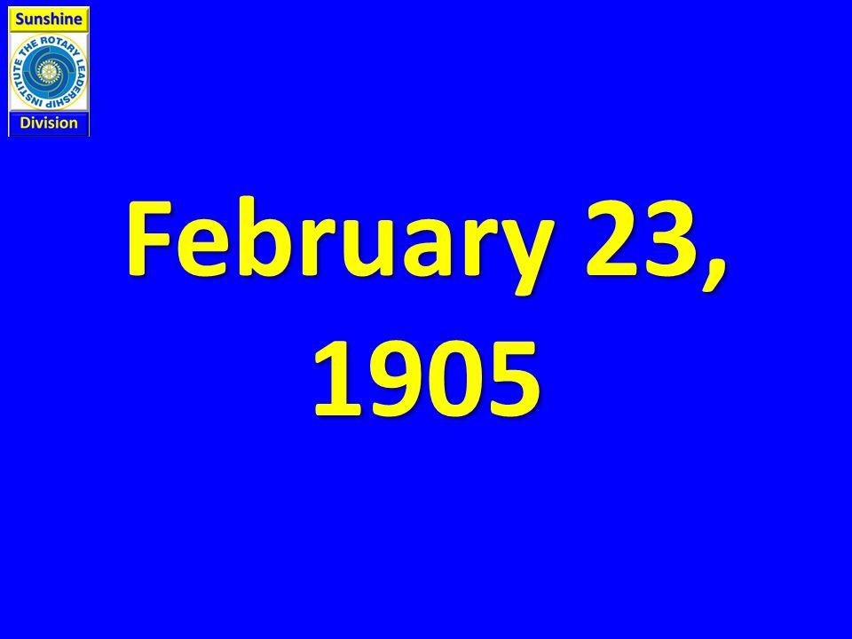 February 23, 1905