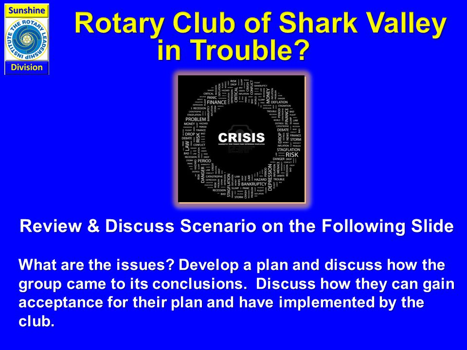 Review & Discuss Scenario on the Following Slide What are the issues.