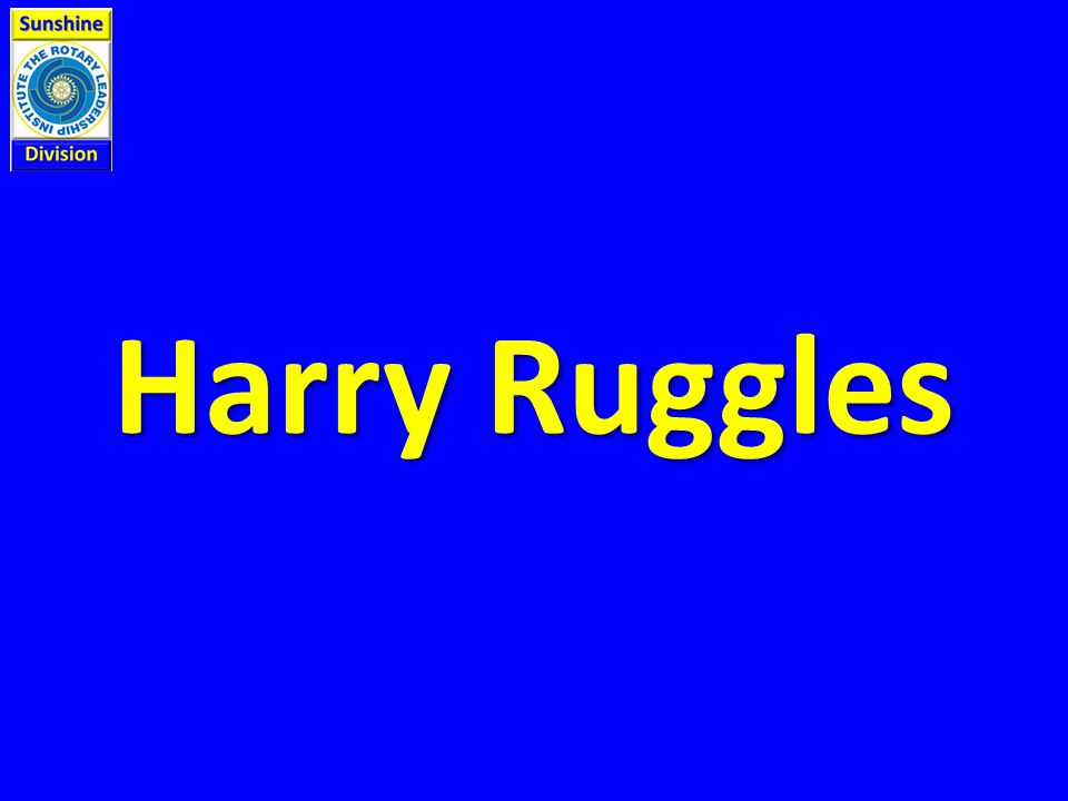 Harry Ruggles