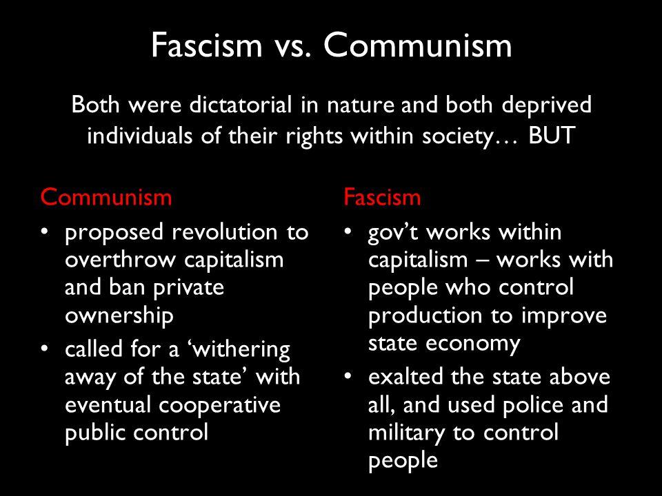 Fascism vs.