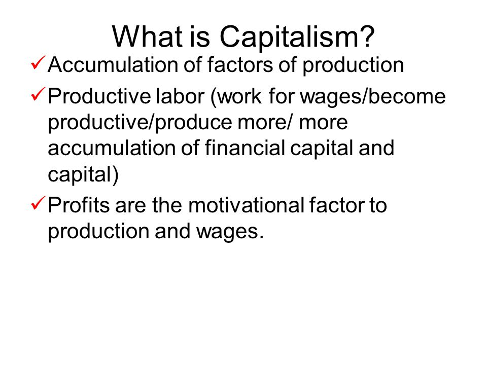 MARXISM Dictatorship would rule working class-become central planners- making all economic decisions.