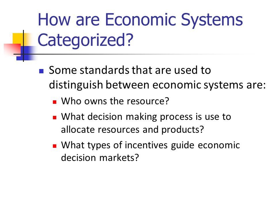 Review Economies must answer the following: What goods and services will be produced.