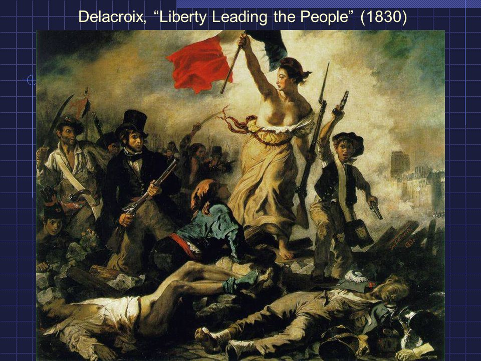 Delacroix, Liberty Leading the People (1830)
