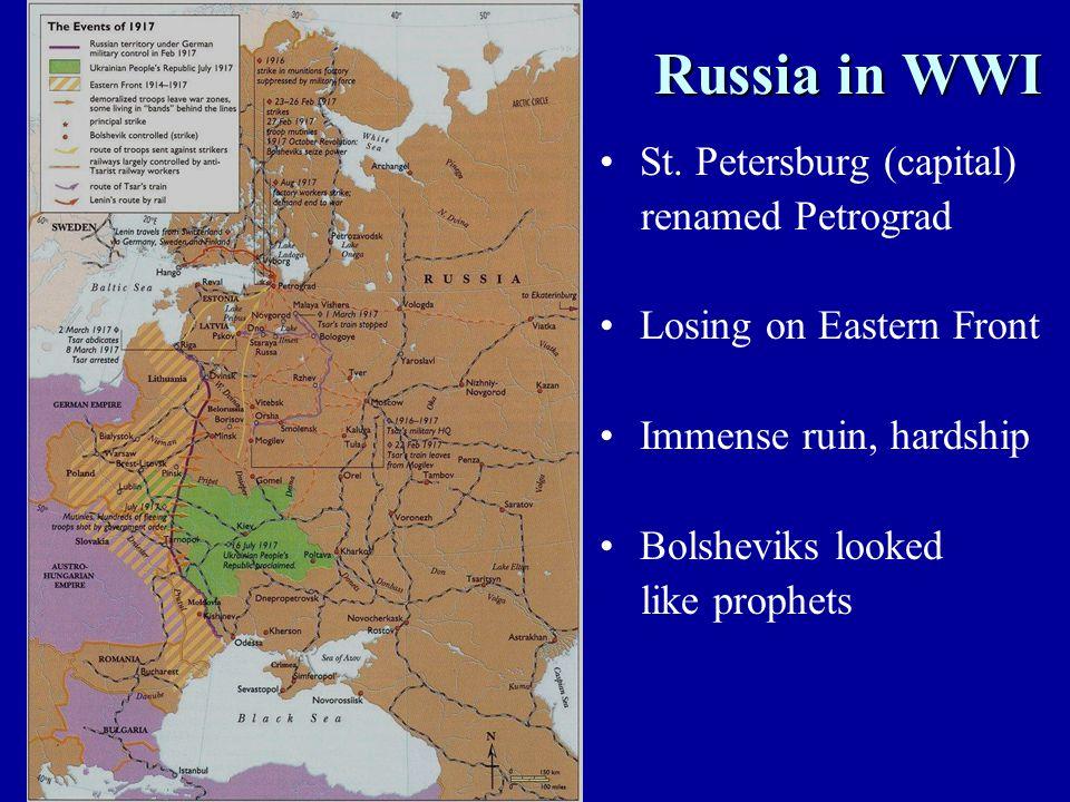 Russia in WWI Russia in WWI St.