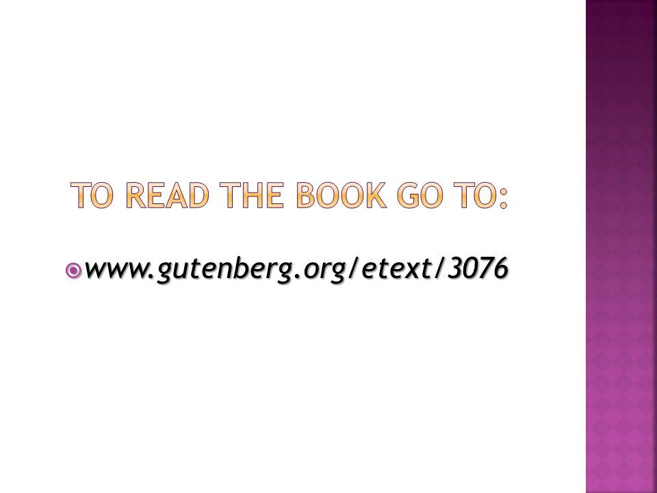  www.gutenberg.org/etext/3076