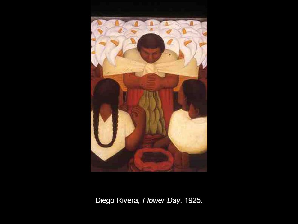 Diego Rivera, Flower Day, 1925.