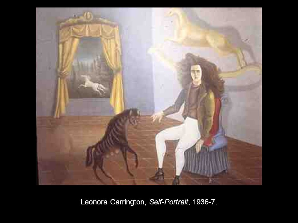 Leonora Carrington, Self-Portrait, 1936-7.