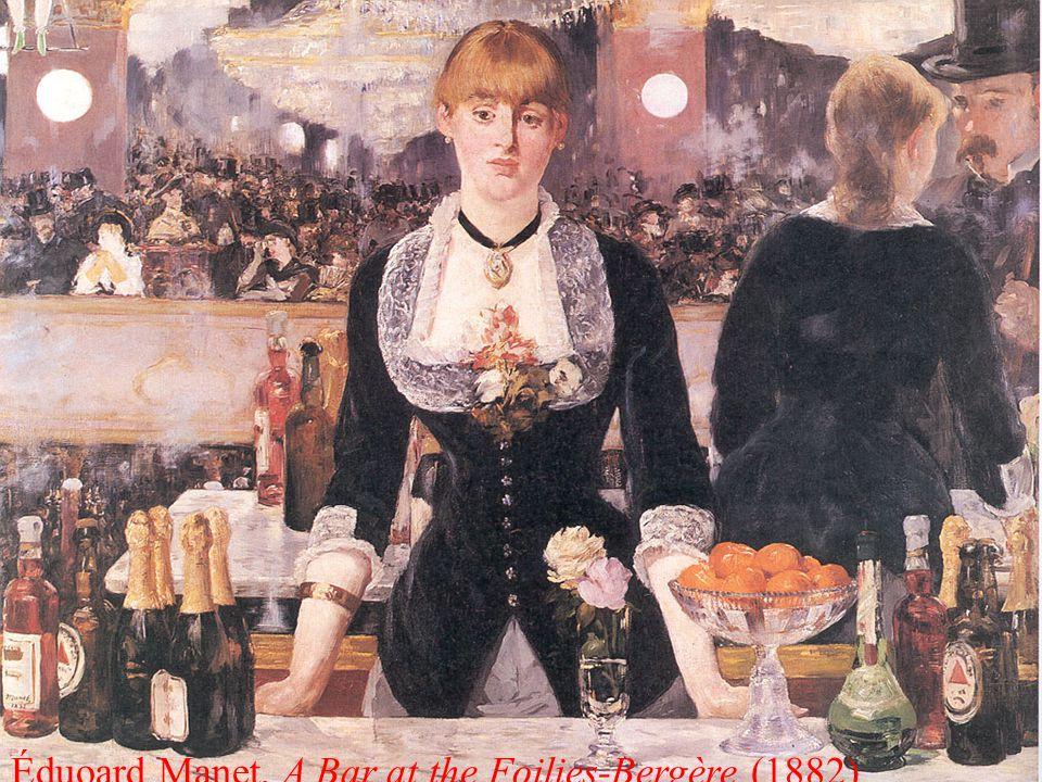 Éduoard Manet, A Bar at the Foilies-Bergère (1882)