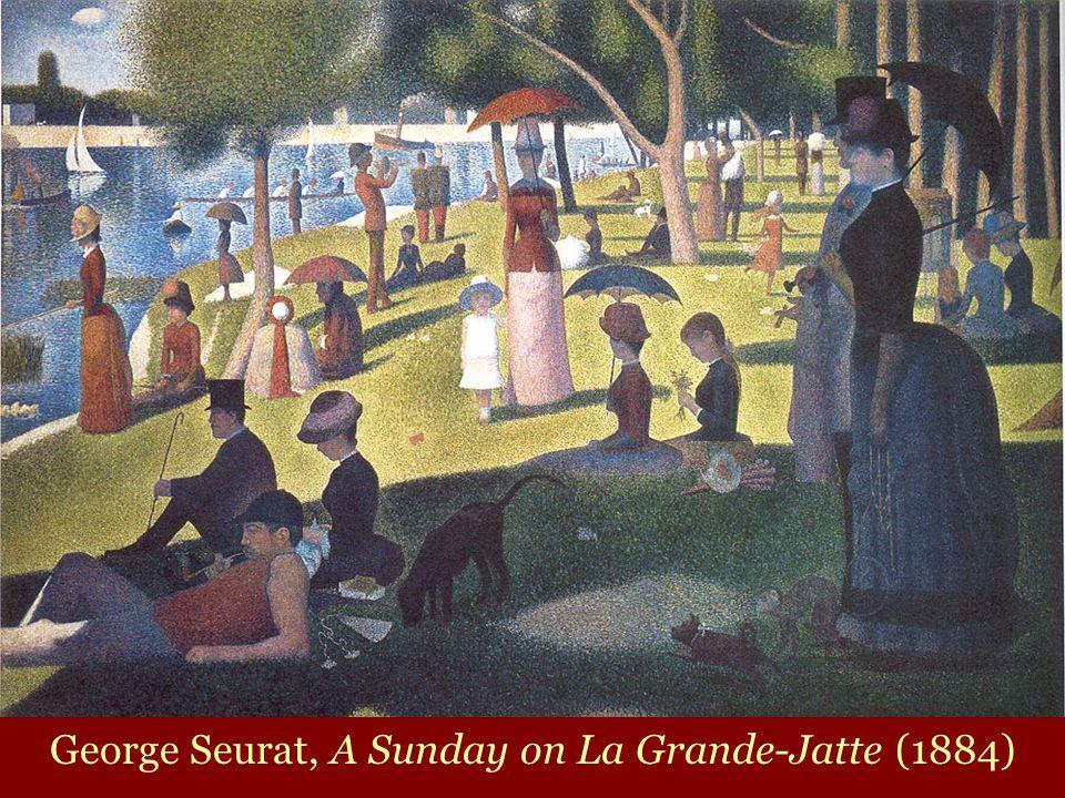 George Seurat, A Sunday on La Grande-Jatte (1884)