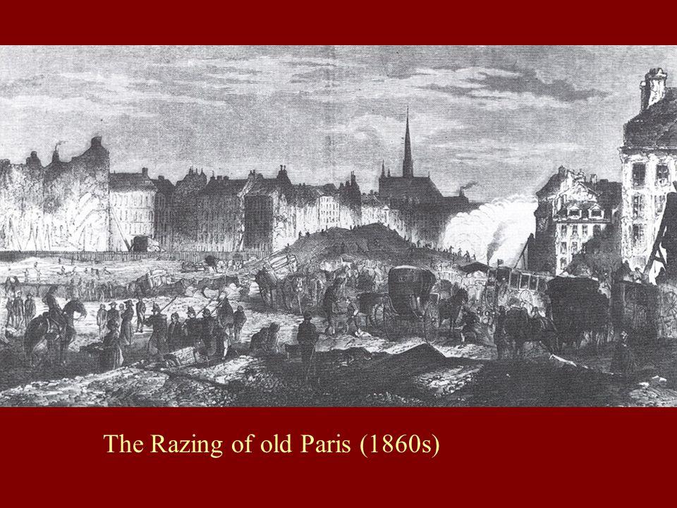 The Razing of old Paris (1860s)