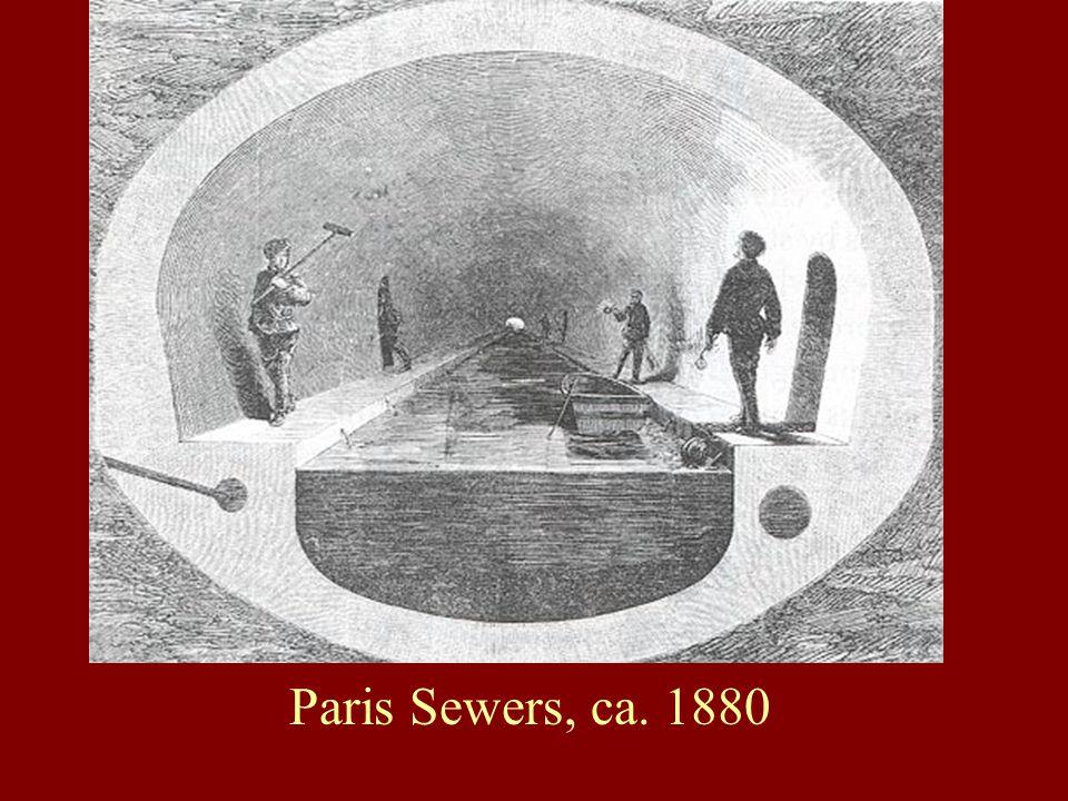 Paris Sewers, ca. 1880