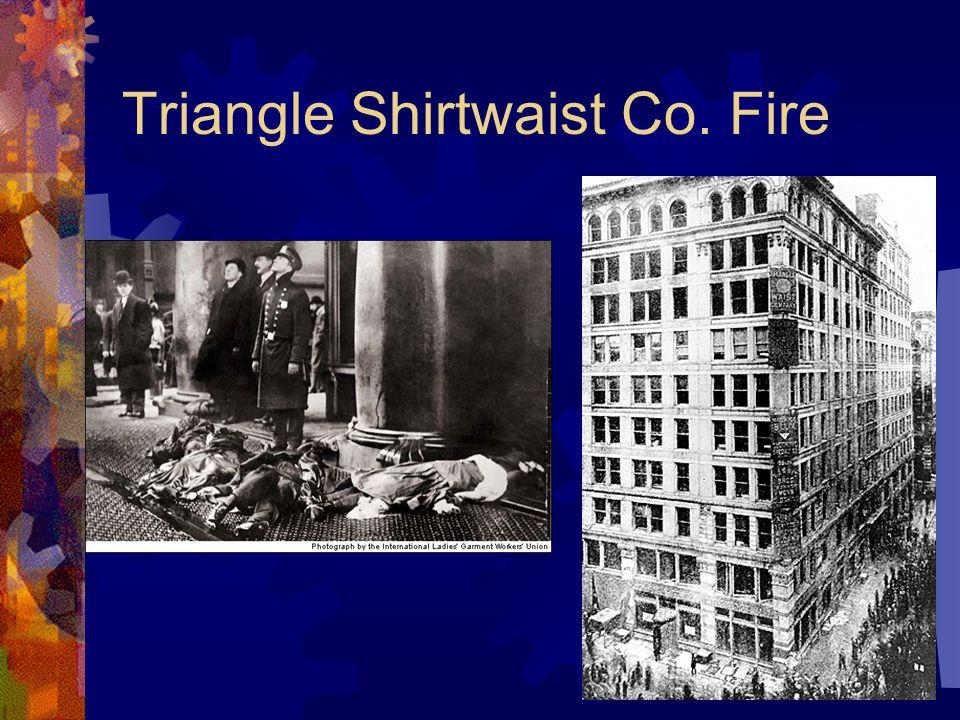 Triangle Shirtwaist Co. Fire