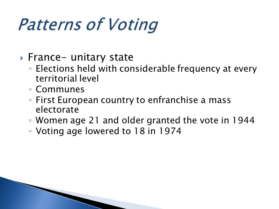 Presidential Elections by Direct Popular Suffrage is the most important expression of the General Will in France