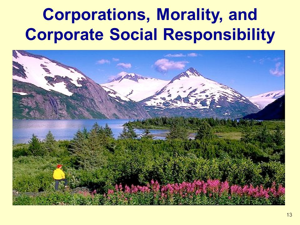 Corporations, Morality, and Corporate Social Responsibility 13 2 4 6 8 10 2 2 4 6 8 2 Click to start Timer 1 2 3 4 5 1 2 3 4 End Timer Started