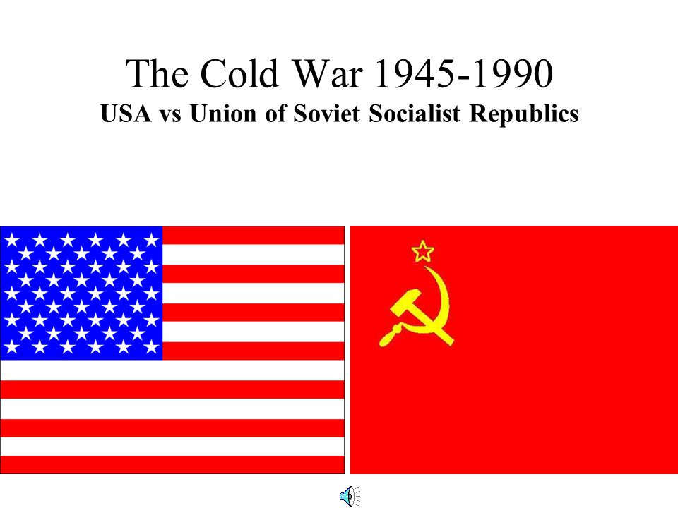 Define Cold War The strategic and political struggle that developed after WWII between the United States and it's Western European allies and the Soviet Union and Eastern European allies Democracy vs.