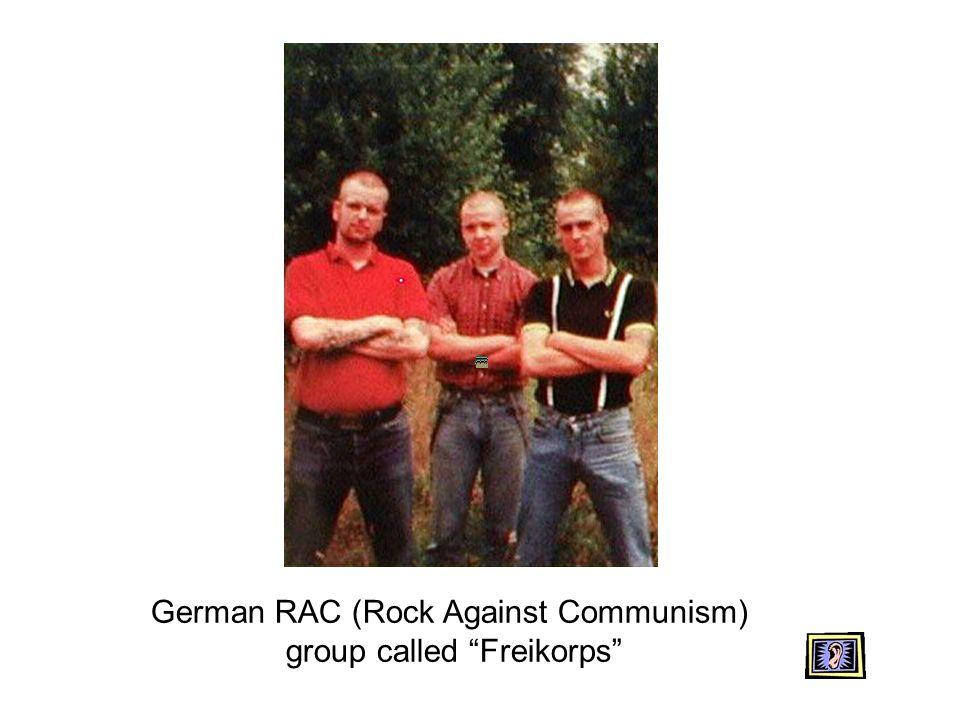 German RAC (Rock Against Communism) group called Freikorps