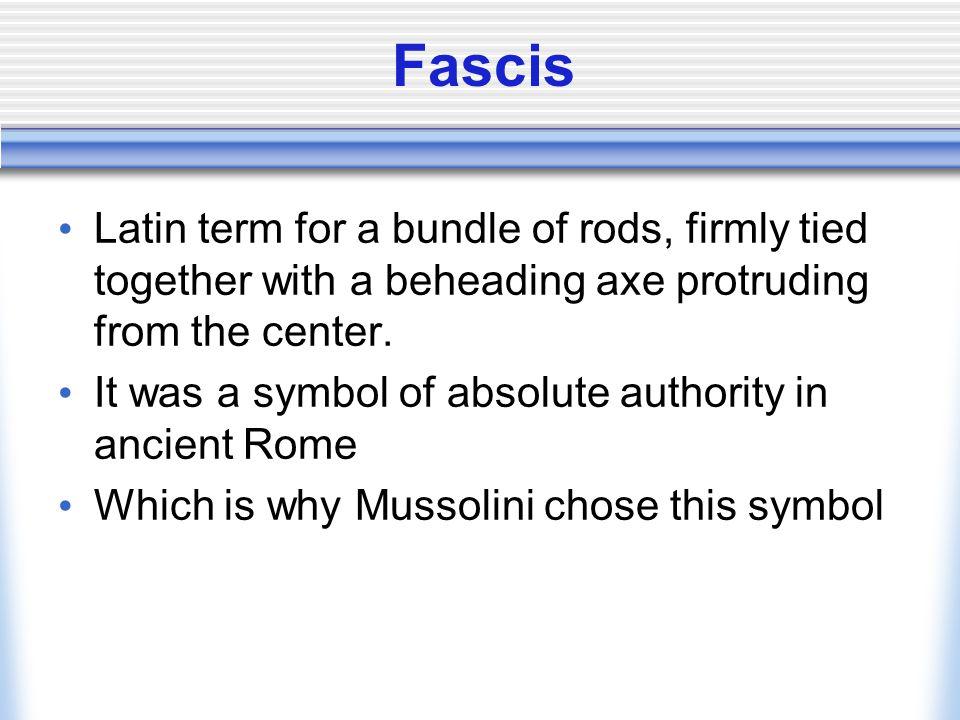 Fascism - what is it.