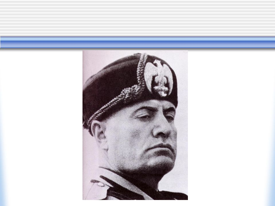 Other changes He adopted the title 'Il Duce' Civil service purged 1928 cancelled future elections and replaced the Italian parliament with the Fascist Grand Council