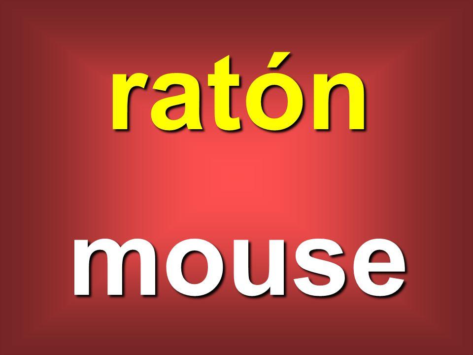 ratón mouse