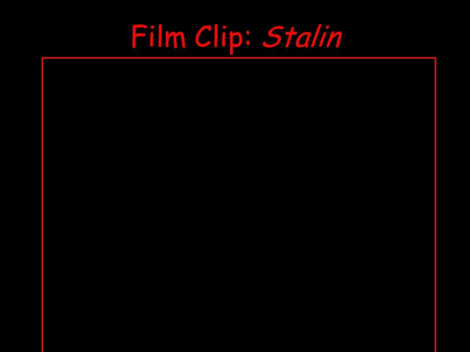 Film Clip: Stalin