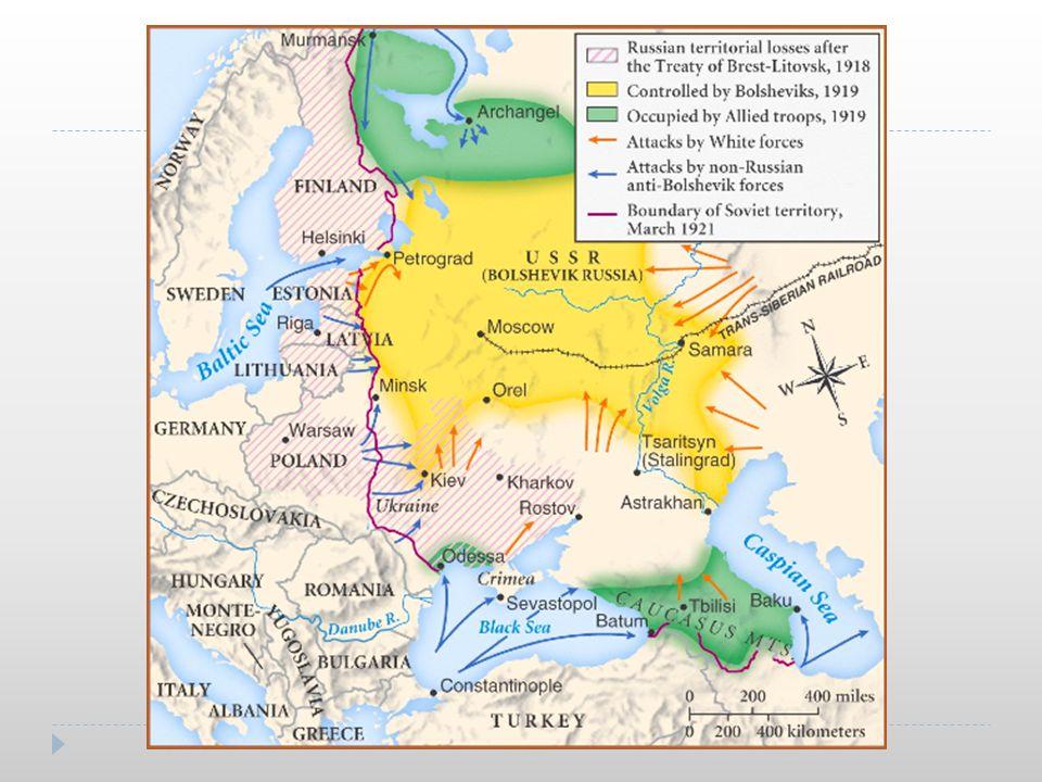 Civil War (cont.) Why did the Bolsheviks win.