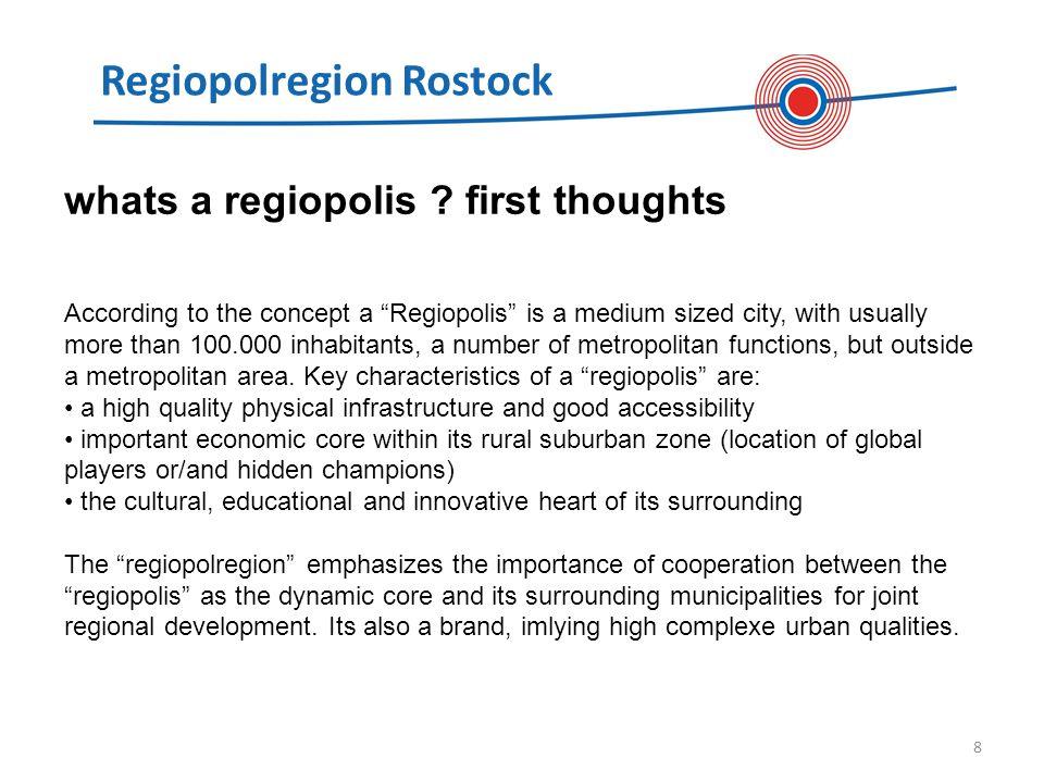 Regiopolregion Rostock 8 whats a regiopolis .