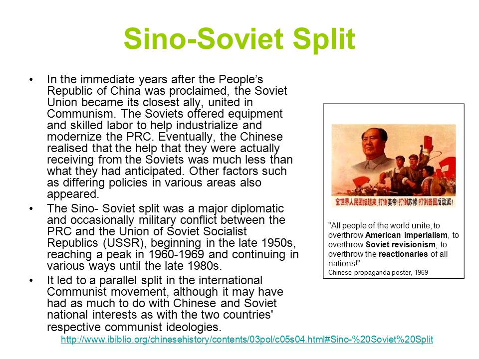 General Differences: Geo-political and historical differences between Chinese and Russian Revolutions The different levels of development of the productive forces was a main difference in the two Revolutions.