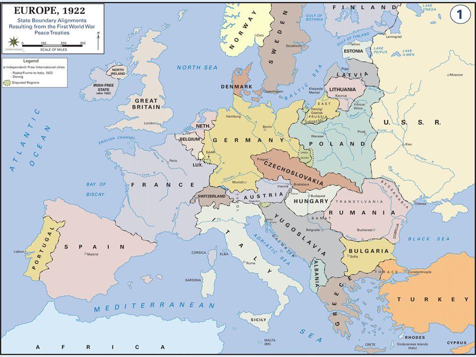 Spanish Civil War (1936-1939) Germany and Italy aid Franco's fascist regime against liberal/socialist national gov't Germany and Italy aid Franco's fascist regime against liberal/socialist national gov't Britain, France & U.S.