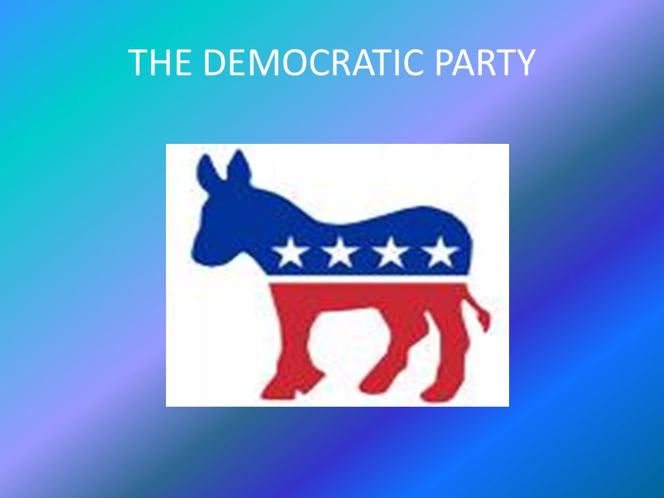 The Democratic Party The Democratic Party is one of two major contemporary political parties in the United States, along with the Republican Party.