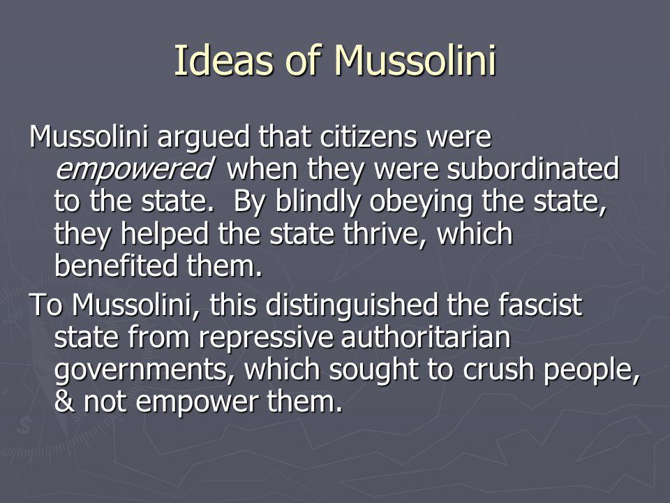 Other Fascist Regimes ► Spain under Franco ► Portugal under Salazar ► Germany under Hitler – the most extreme