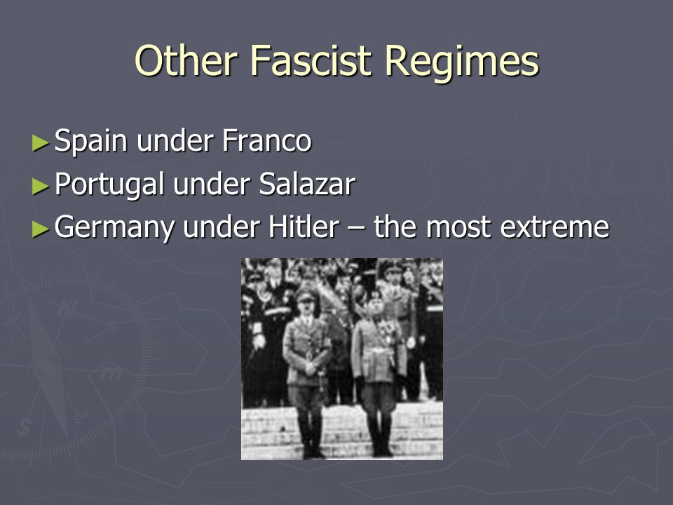 Nazi racial theory ► The belief that Germans were threatened the most from an internal enemy led to the Holocaust, the extermination of 6 million Jewish people in Europe.