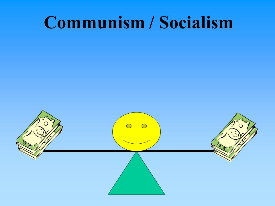 Capitalism emphasizes private ownership.What does communism emphasize.