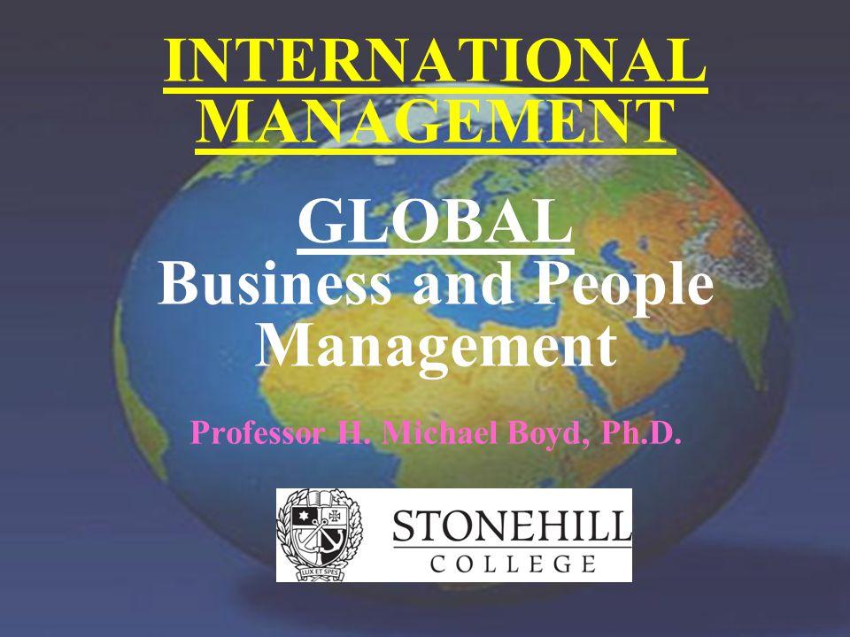 Professor H.Michael Boyd, Ph.D.