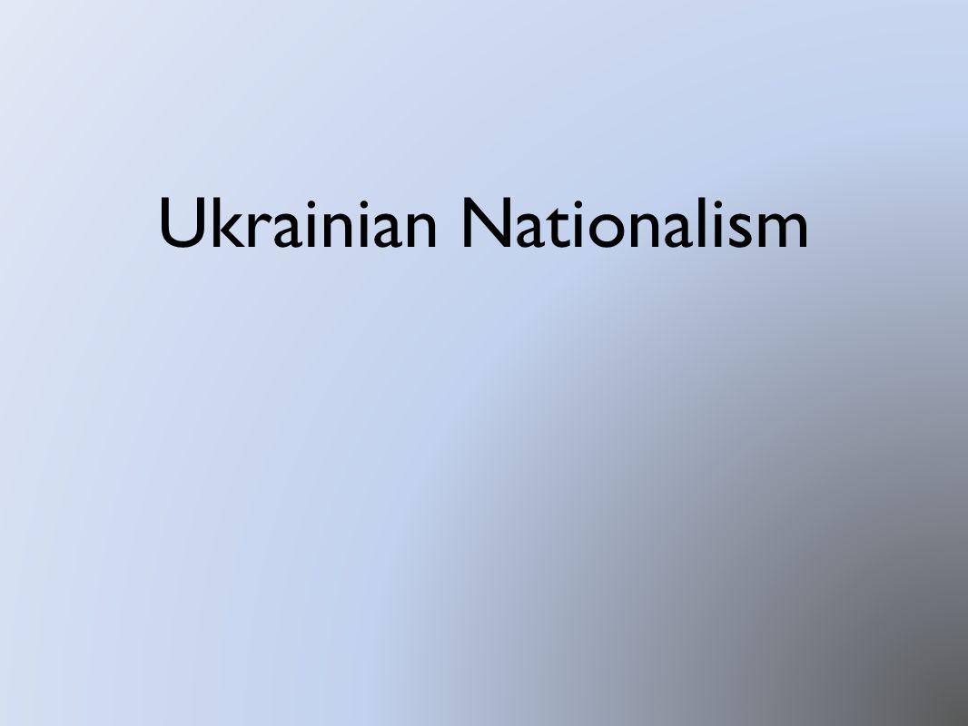 Ukrainian Nationalism