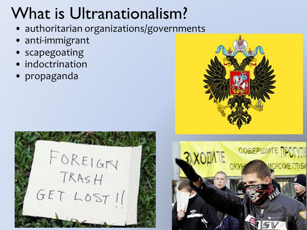 What is Ultranationalism.