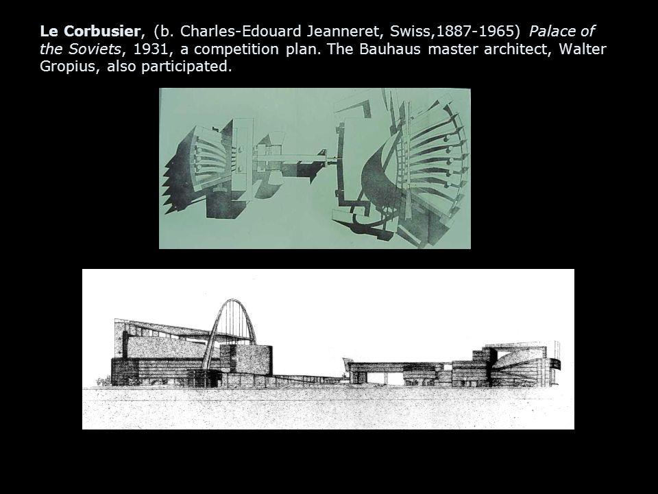 Le Corbusier, (b.