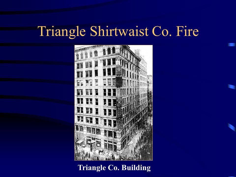 Triangle Shirtwaist Co. Fire Triangle Co. Building
