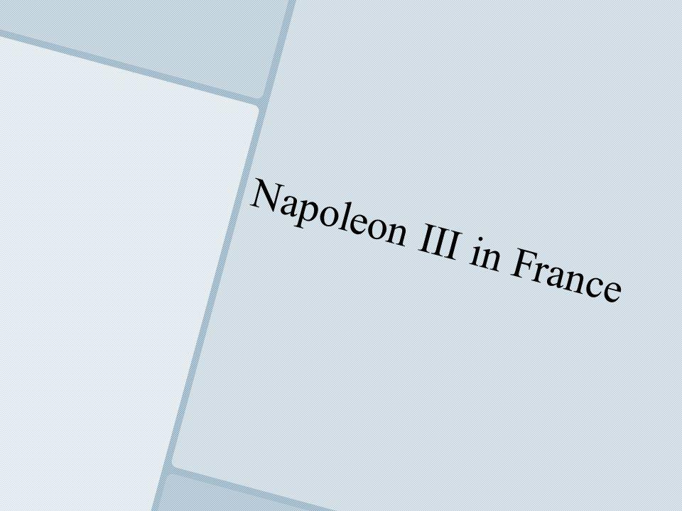 Napoleon III in France