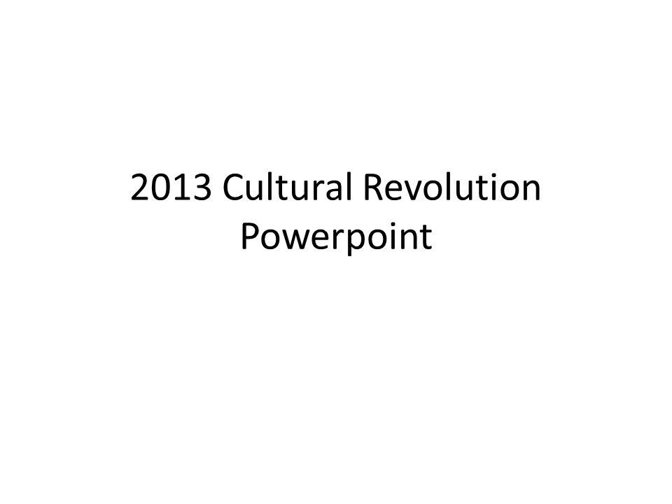 Events Prior To Cultural Revolution