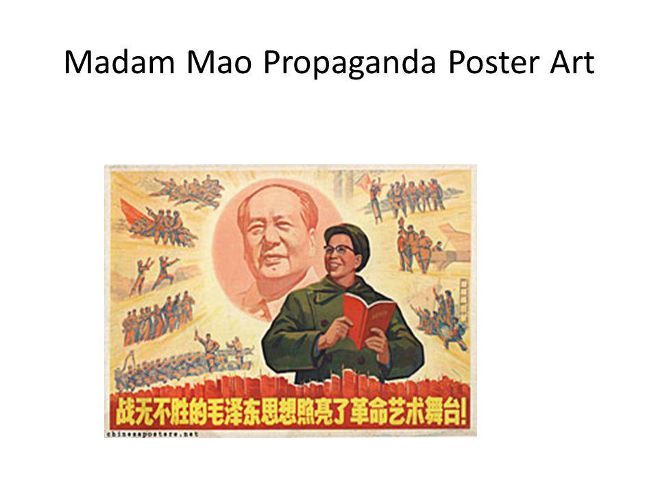 Madam Mao Propaganda Poster Art