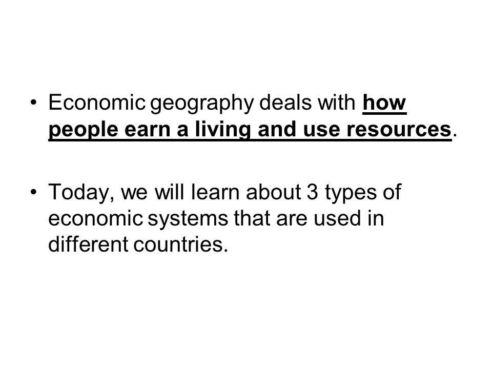 Command Economy Government planners answer ALL economic questions.
