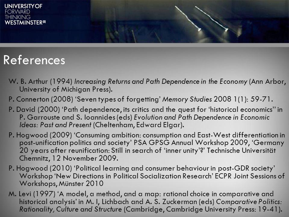References W. B.