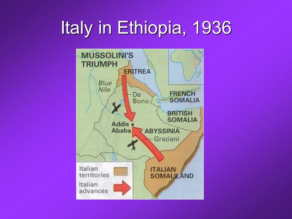 Italy in Ethiopia, 1936