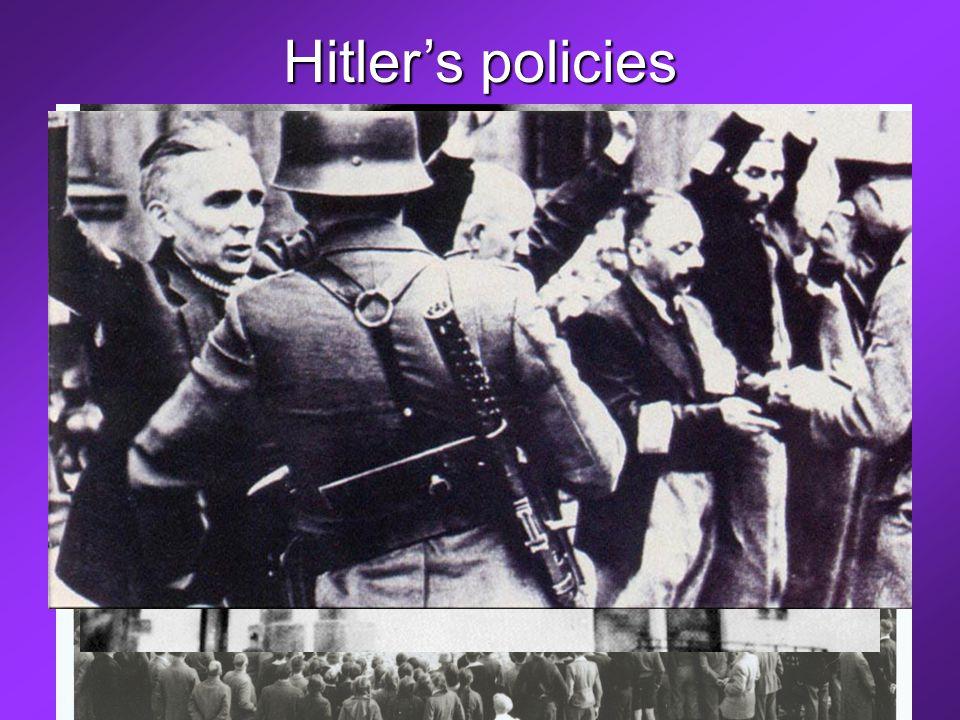 Hitler's policies