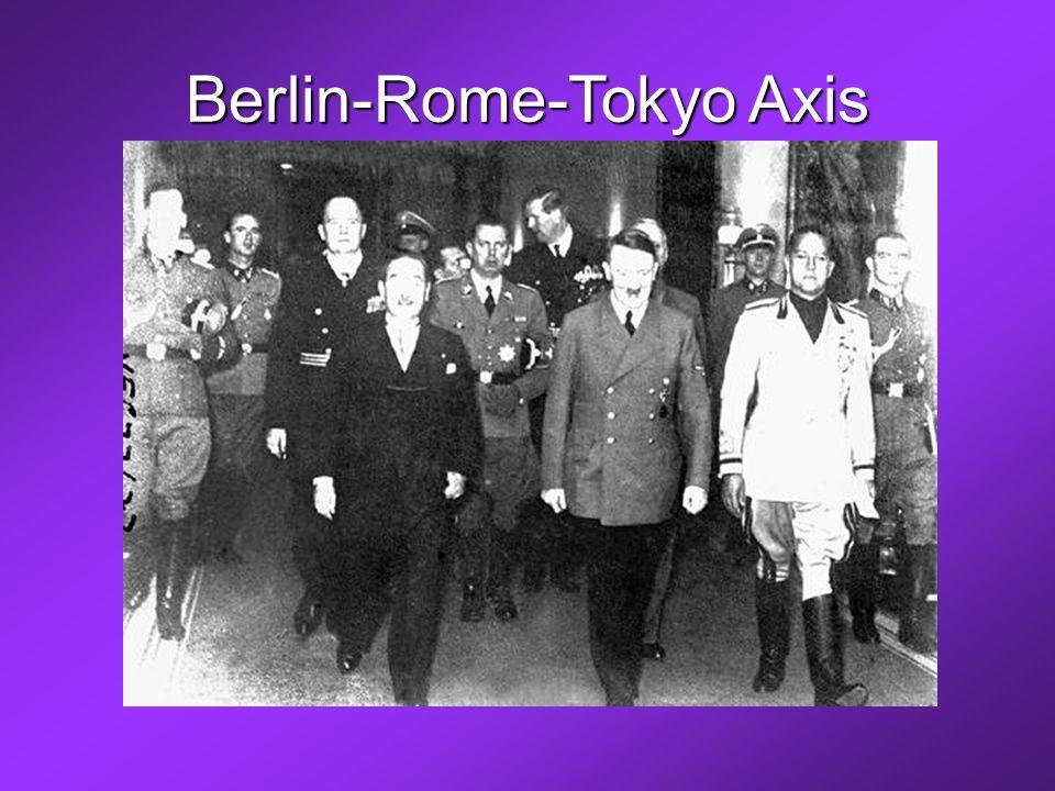 Berlin-Rome-Tokyo Axis
