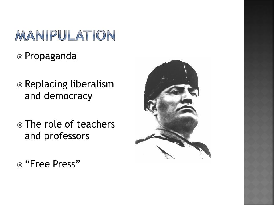 " Propaganda  Replacing liberalism and democracy  The role of teachers and professors  ""Free Press"""