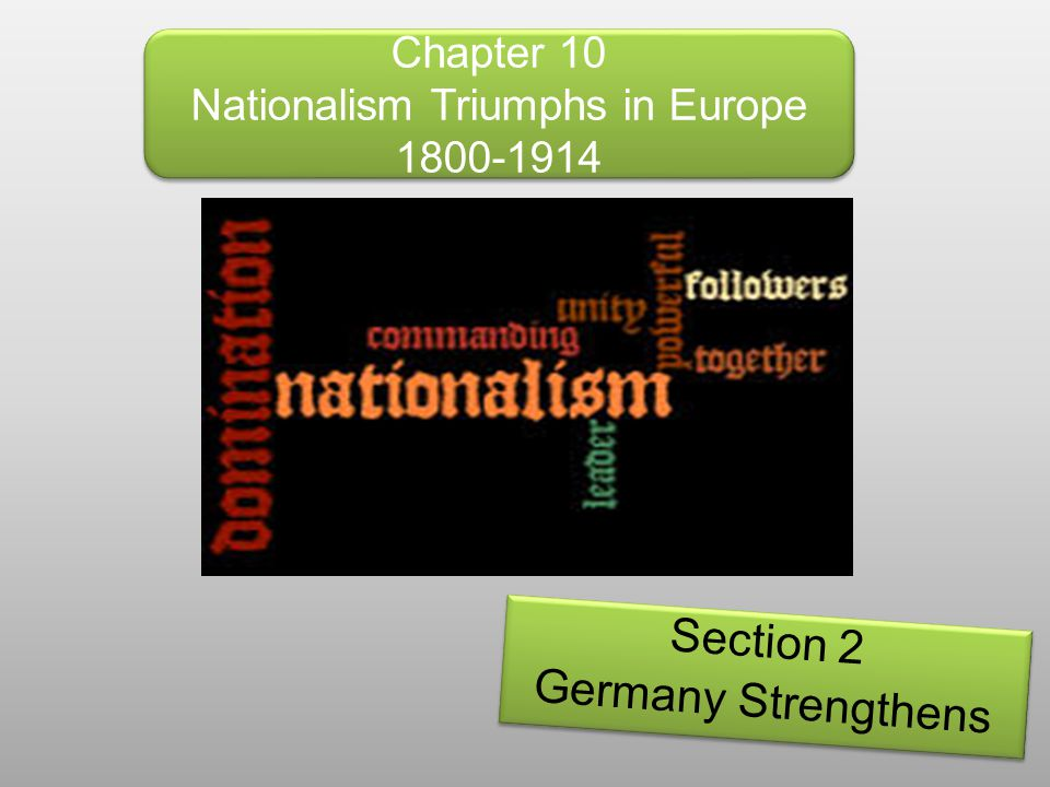 Lesson Objectives By the end of this lesson you will be able to: Describe how Germany became an industrial giant.
